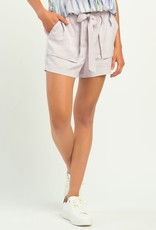 DEX Elastic Waist Tencel Shorts