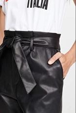 BB DAKOTA BB Dakota Vegan Leather Paperbag Pants
