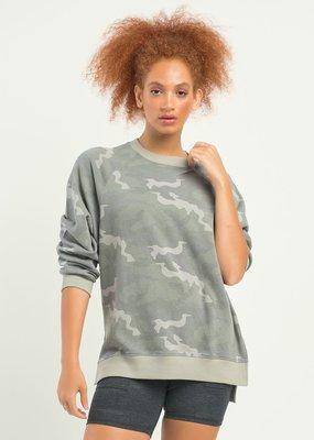 DEX Dex Oversized Camo Pullover