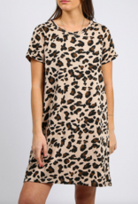 BRUNETTE BRUNETTE The Label Leopard T-Shirt Dress
