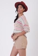 Black Tape Black Tape Sweater Maisie V Neck L/SLv