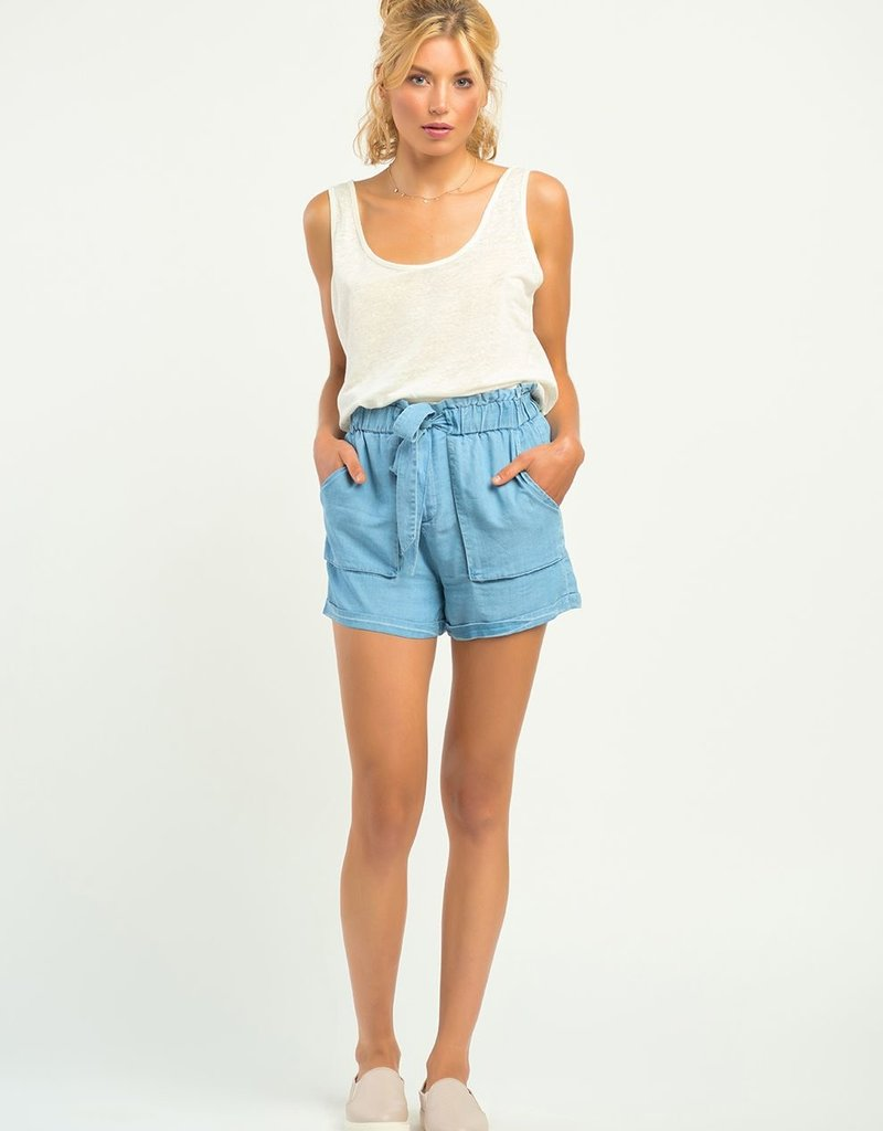 DEX Dex Shorts Lillian Elastic Waist w/ Belt