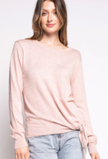 PINK MARTINI Pink Martini Sweater The Nicola w/ Tie Detail