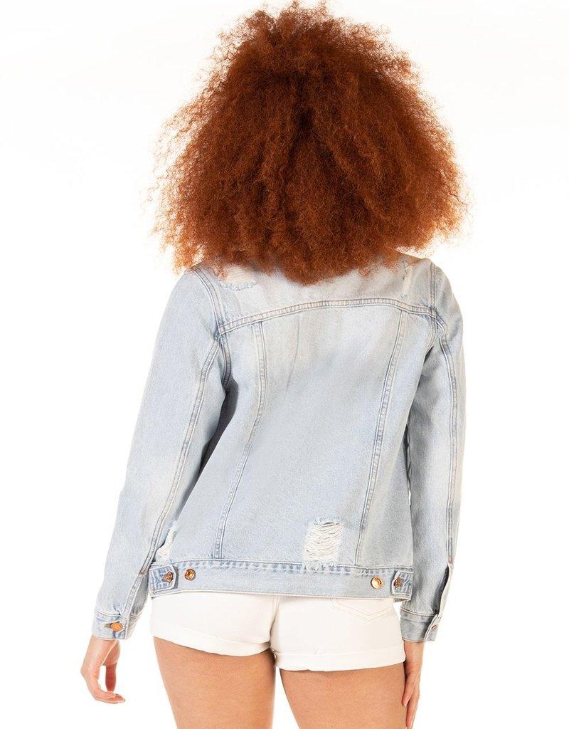 DEX Dex Denim Sherri Distressed Jacket