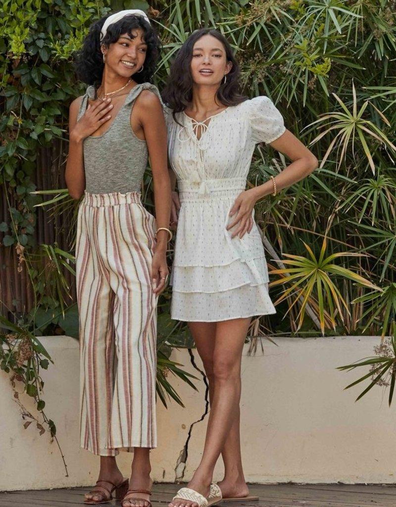 Sadie & Sage Sadie & Sage Pant 'Faithful' Wide Leg Linen