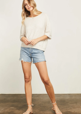 GENTLE FAWN Gentle Fawn Top Collins Relaxed S/Slv