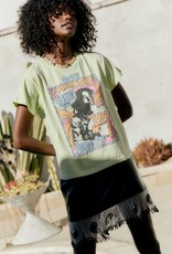 Daydreamer Daydreamer Bob Marley 'Don't Worry' Girlfriend Tee