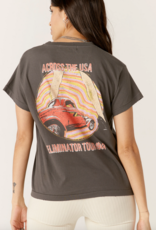 Daydreamer Daydreamer ZZ Top 'Eliminator' Girlfriend Tee