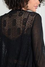 Molly Bracken Molly Bracken Cardi June Knit w/ Lace Back