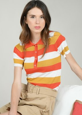 Molly Bracken Molly Bracken Top Mia S/Slv Polo