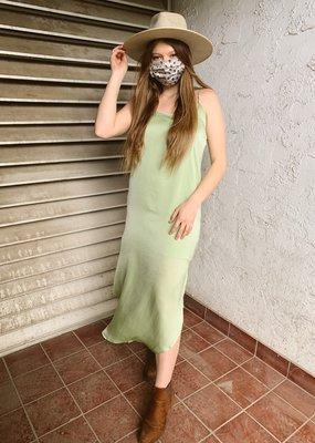 Sadie & Sage Sadie & Sage Dress 'Riley' Hammered Matte Satin Midi