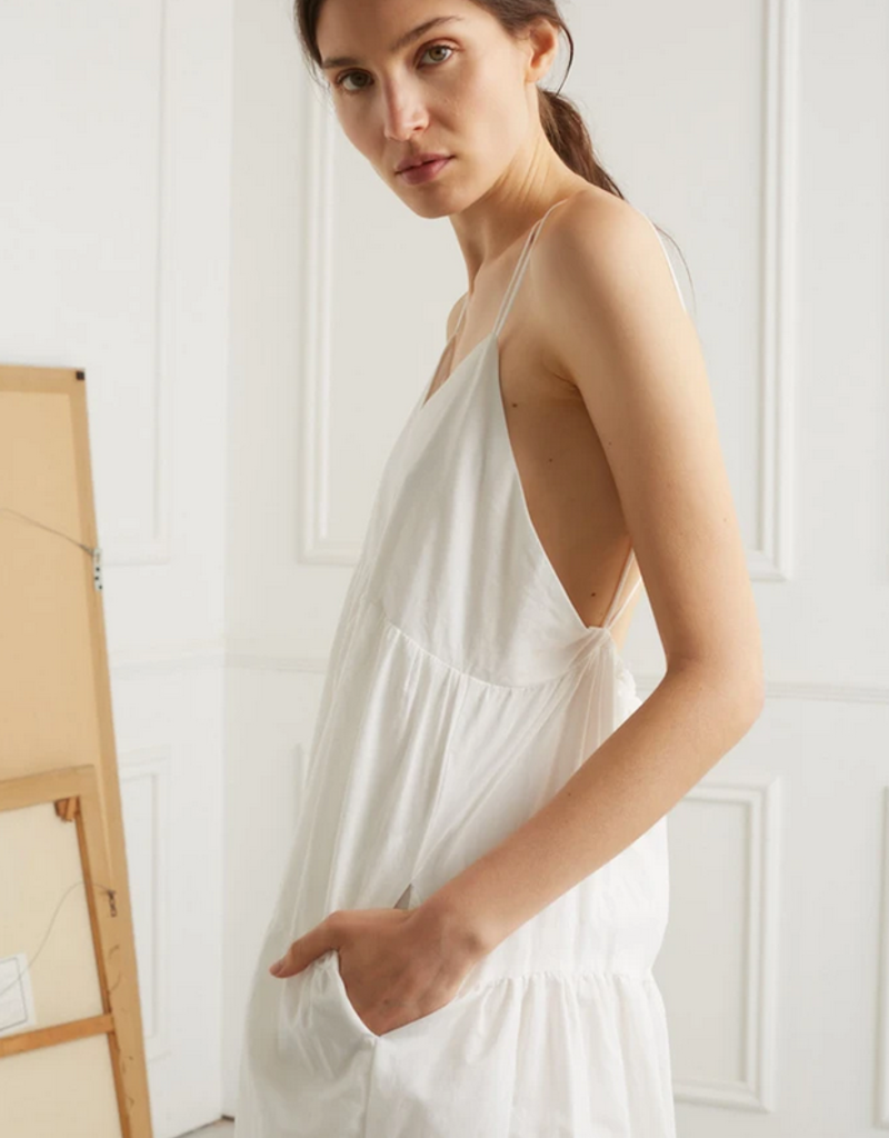 DÈLUC DÈLUC Dress Helena Strappy Tiered Baby Doll