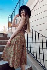 Molly Bracken Molly Bracken Jessica Floral Midi Dress