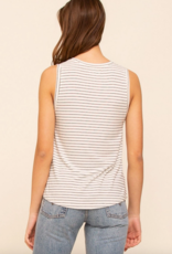 Thread and Supply CABIN Euclid Ribbed Crew Tank