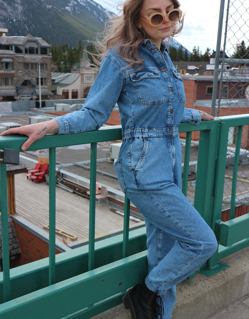 Mavi Jeans Mavi Eva Denim Jumpsuit