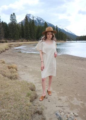 Molly Bracken Molly Bracken Monica Linen Mini Dress