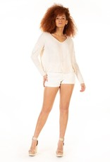DEX Dex Sweater Ivy L/Slv Beach V-Neck