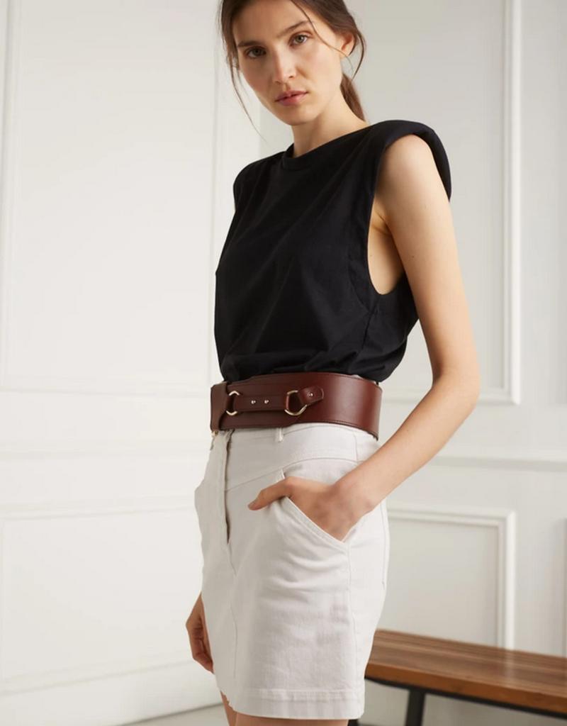 DÈLUC DÈLUC Skirt Marion Double Button Mini