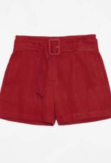 DÈLUC DÈLUC Shorts Marilyn Linen Blend w/ Belt