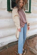JACKSON ROWE Jackson Rowe Shirt-Dress Beau Oversized Meanswear Plaid