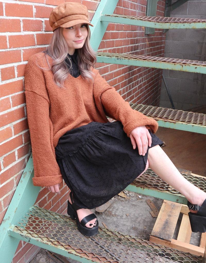 Molly Bracken Molly Bracken Dress Tanya Collared S/Slv w/ Slip Midi