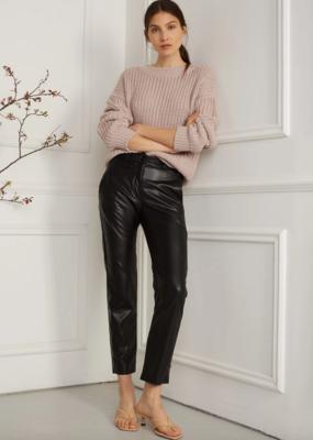 DÈLUC DÈLUC Pant Irina Faux Leather Straight Leg