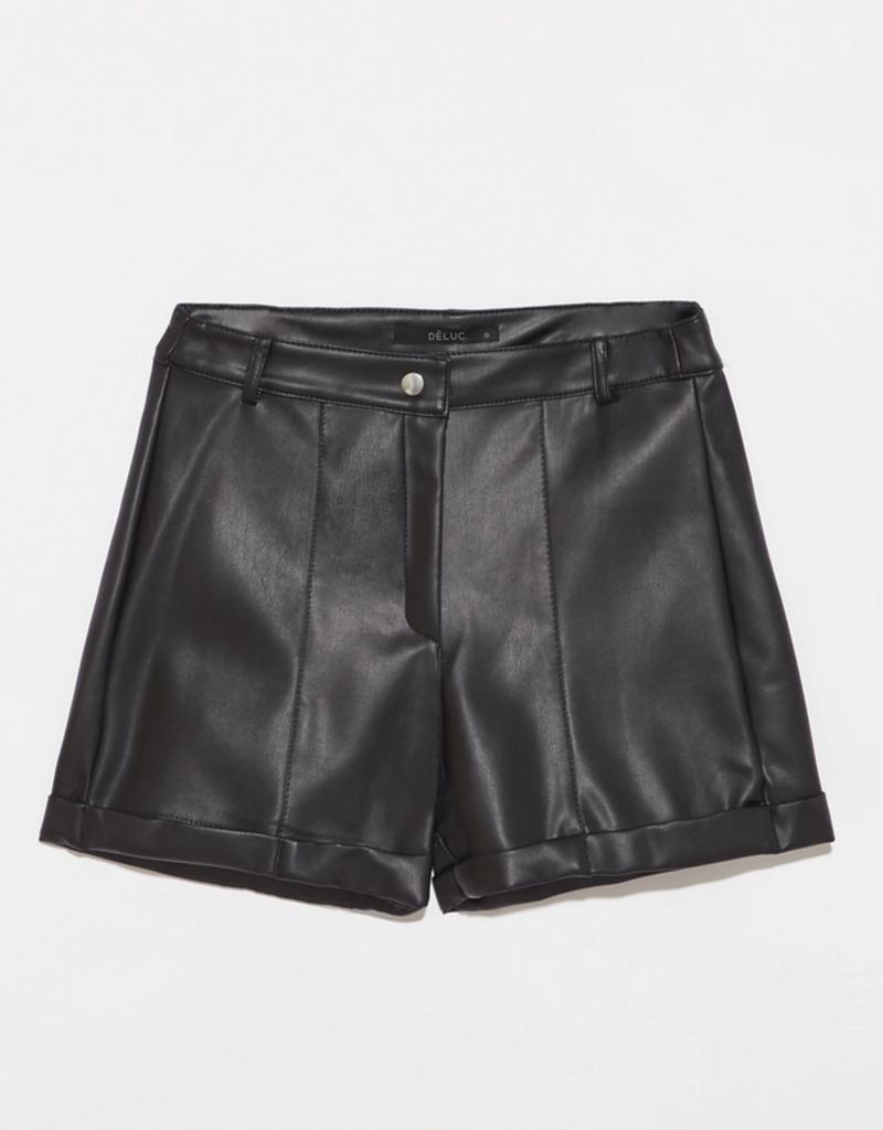 DÈLUC DÈLUC Shorts Megan Faux Leather