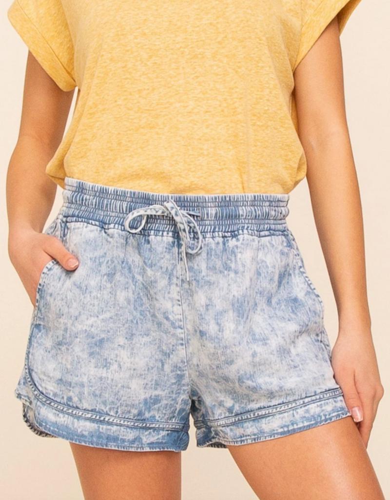 Thread and Supply CABIN Wanderwell Retro Shorts w/ Elastic Waist
