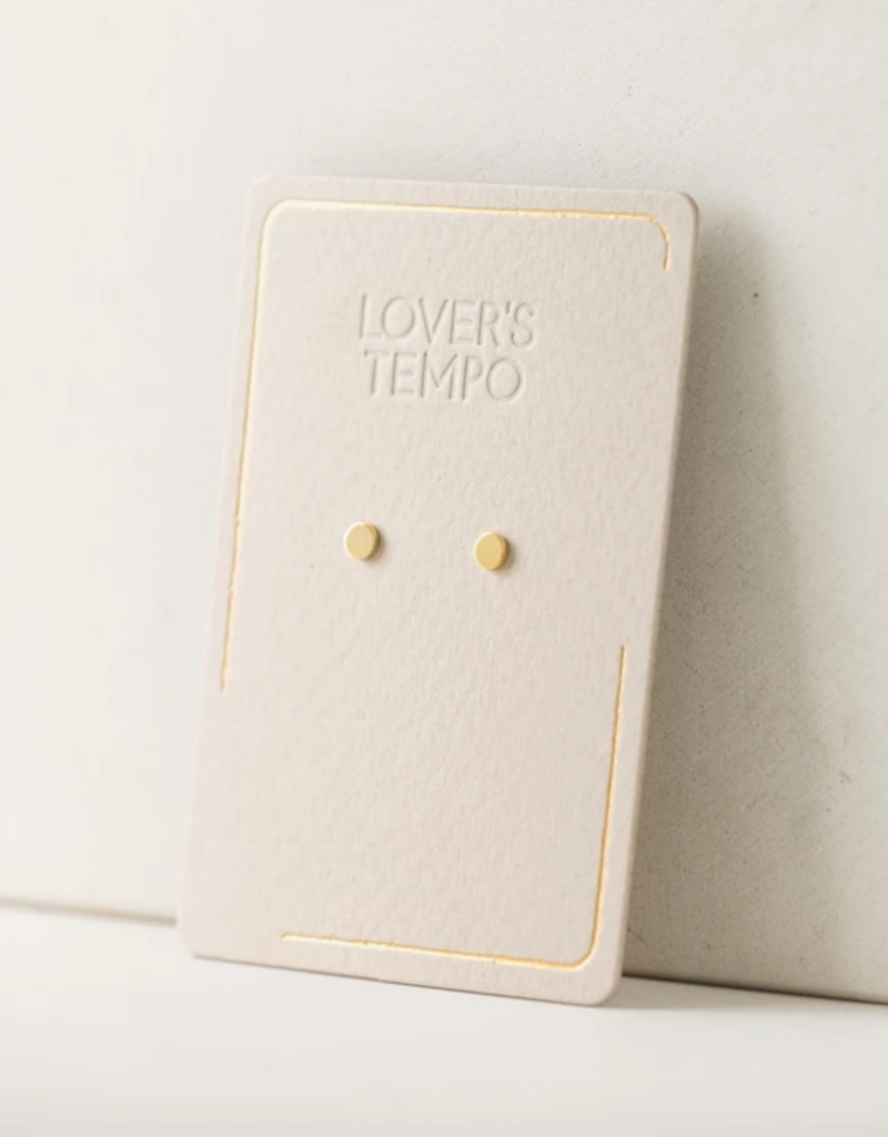 Lovers Tempo Lovers Tempo Caro Circle Stud Earrings