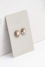 Lovers Tempo Lovers Tempo Amelia Crystal Post Earrings