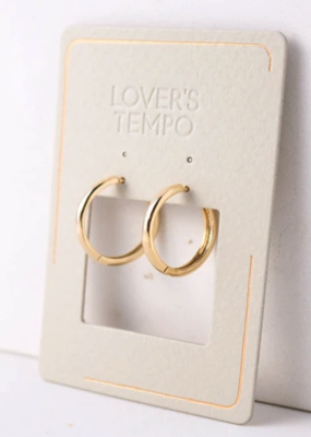 Lovers Tempo Lovers Tempo Bea 20mm Hoop Earrings