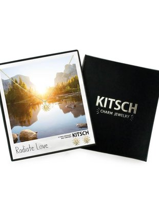 Kitsch Kitsch Necklace/Earring Box Set Radiate Love Sun