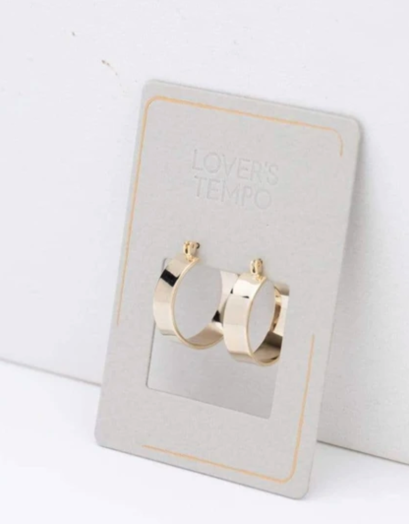 Lovers Tempo Lovers Tempo Chloe Hoops Earrings
