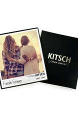 Kitsch Kitsch Necklace/Earring Box Set Friends Forever Infinity