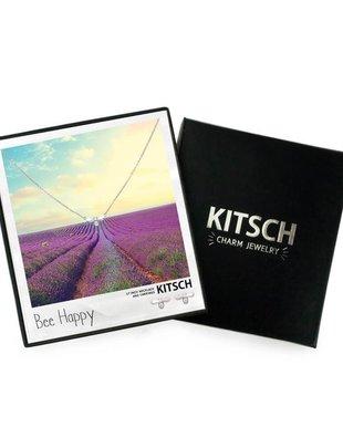 Kitsch Kitsch Necklace/Earring Box Set Bee Happy Bee