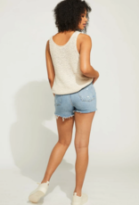 """GENTLE FAWN Gentle Fawn Tank """"Haven"""" V-Neck Stitch Detail"""