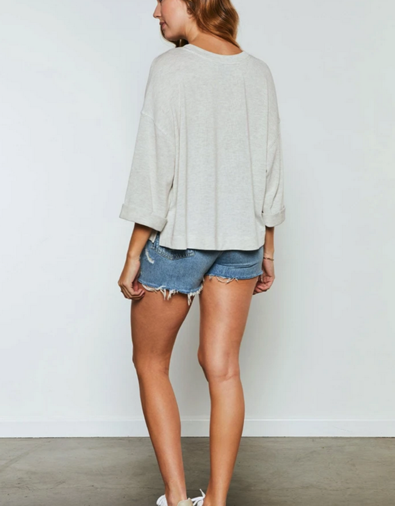"""GENTLE FAWN Gentle Fawn Top """"Atley"""" Patch Pocket Knit"""