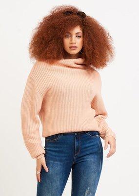 DEX Dex Sweater Tasha L/Slv Mock Neck