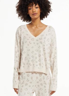 ZSUPPLY Z Supply Sweater Cassie Animal
