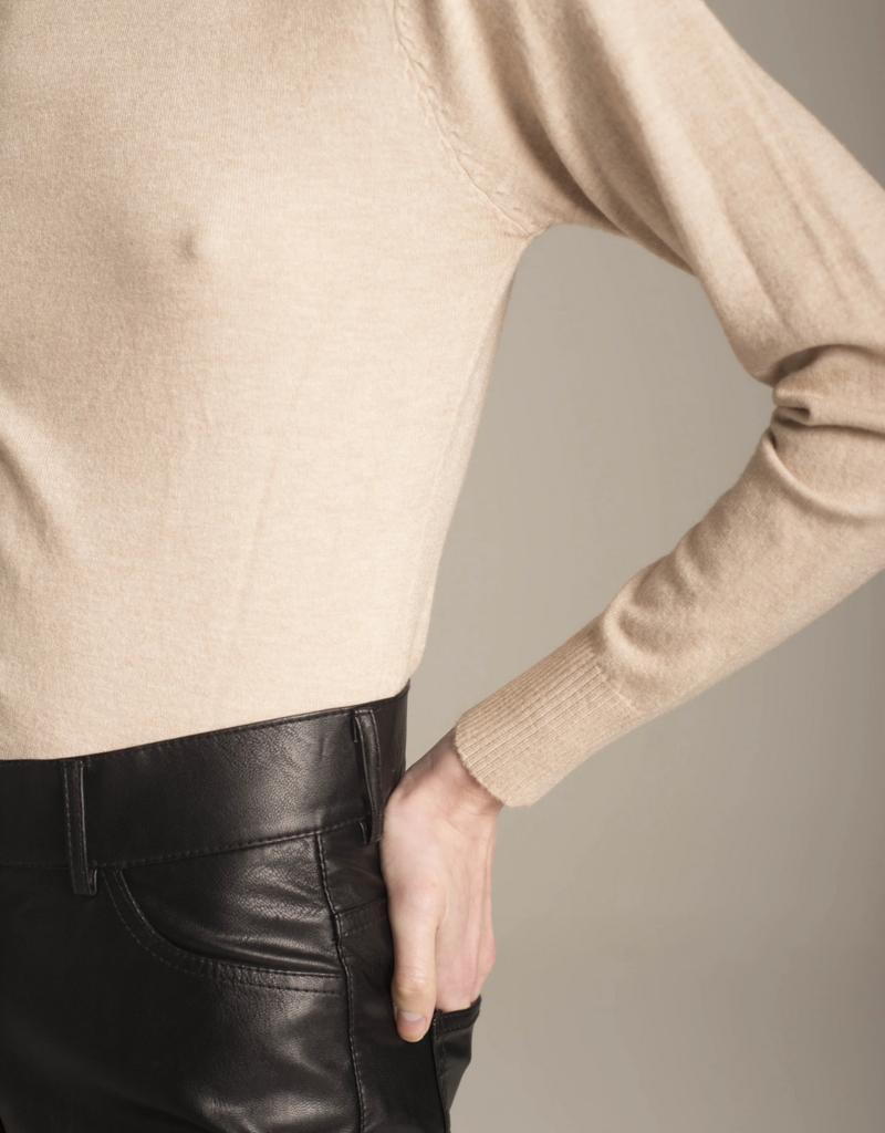 DÈLUC Deluc Sweater Silene L/Slv Turtleneck
