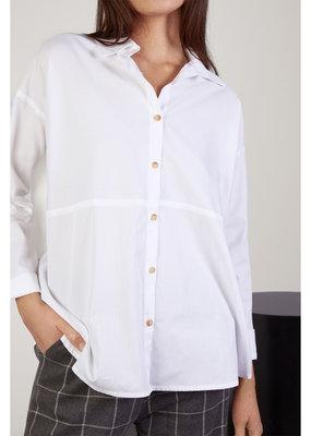 Mus & Bombon Mus & Bombon Vivian Shirt Oversized Button-Up