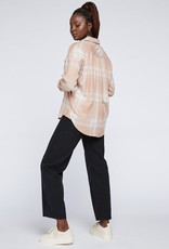 """GENTLE FAWN Gentle Fawn Top """"Alexia"""" Buttonup Plaid"""