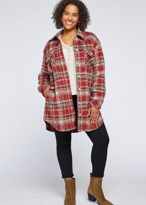"""GENTLE FAWN Gentle Fawn Jacket """"Leighton"""" Plaid Buttonup"""