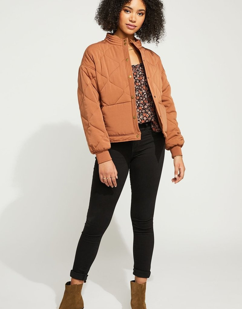 """GENTLE FAWN Gentle Fawn Jacket """"Quinn"""" Quilted Bomber"""