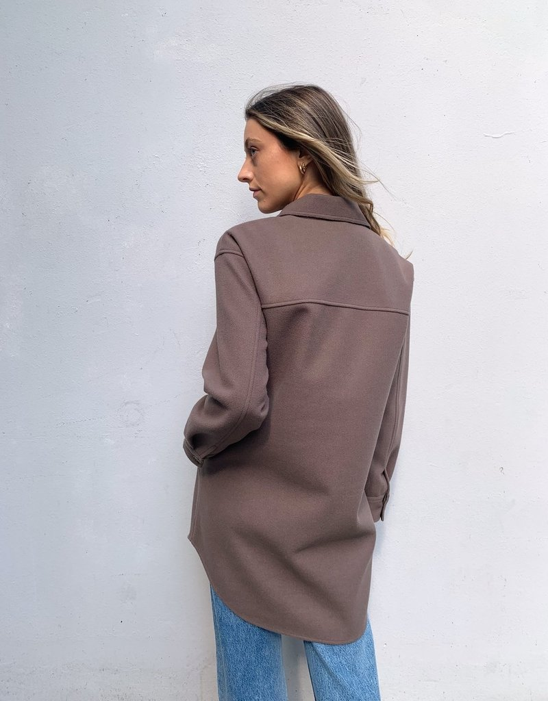 """GENTLE FAWN Gentle Fawn Shacket """"Harmony"""" Rounded Hem"""