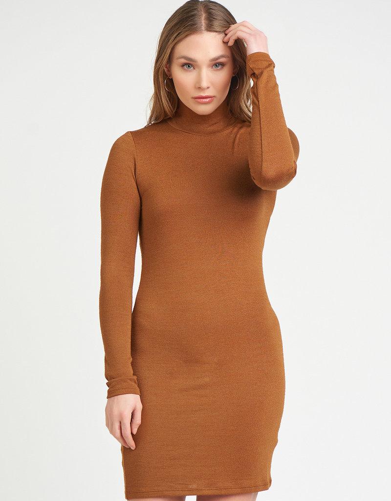 DEX Dex Faye L/Slv Turtleneck Dress