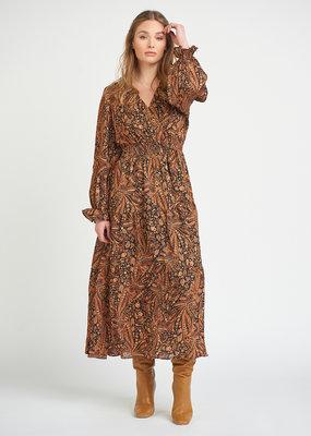 DEX Dex Mara L/Slv Maxi Dress