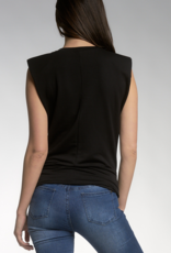 Elan Candace Muscle Top w/ Shoulder Pad