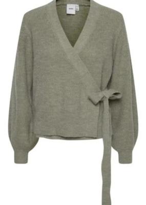 ICHI ICHI Cardigan Novo Knitted Wrap W/Tie