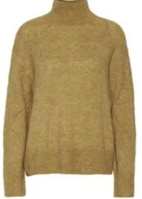 ICHI ICHI Sweater Marat Knitted Pullover W/ Slits